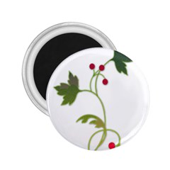 Element Tag Green Nature 2.25  Magnets