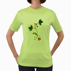 Element Tag Green Nature Women s Green T Shirt