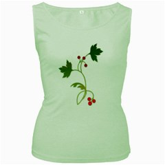 Element Tag Green Nature Women s Green Tank Top
