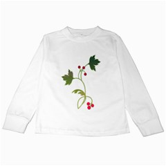 Element Tag Green Nature Kids Long Sleeve T Shirts
