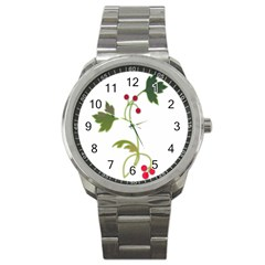 Element Tag Green Nature Sport Metal Watch