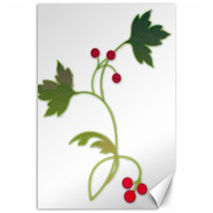 Element Tag Green Nature Canvas 24  X 36