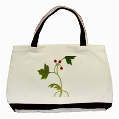 Element Tag Green Nature Basic Tote Bag (two Sides)