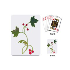 Element Tag Green Nature Playing Cards (Mini)