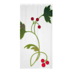 Element Tag Green Nature Shower Curtain 36  x 72  (Stall)