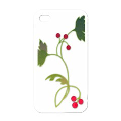 Element Tag Green Nature Apple Iphone 4 Case (white)