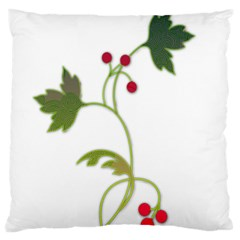 Element Tag Green Nature Large Cushion Case (One Side)