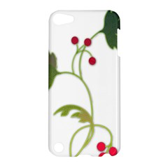 Element Tag Green Nature Apple Ipod Touch 5 Hardshell Case