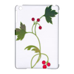 Element Tag Green Nature Apple Ipad Mini Hardshell Case (compatible With Smart Cover)