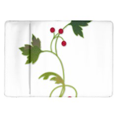 Element Tag Green Nature Samsung Galaxy Tab 10 1  P7500 Flip Case