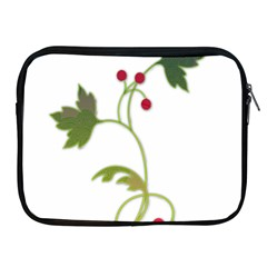 Element Tag Green Nature Apple Ipad 2/3/4 Zipper Cases