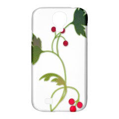 Element Tag Green Nature Samsung Galaxy S4 Classic Hardshell Case (pc+silicone)