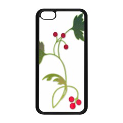 Element Tag Green Nature Apple Iphone 5c Seamless Case (black)