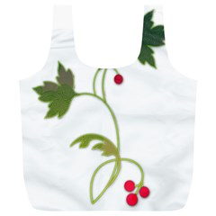 Element Tag Green Nature Full Print Recycle Bags (l)