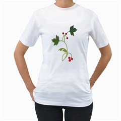 Element Tag Green Nature Women s T Shirt (white)