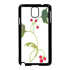 Element Tag Green Nature Samsung Galaxy Note 3 Neo Hardshell Case (black)