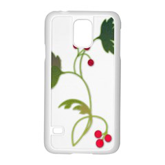 Element Tag Green Nature Samsung Galaxy S5 Case (white)