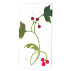 Element Tag Green Nature Galaxy Note 4 Back Case