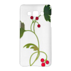 Element Tag Green Nature Samsung Galaxy A5 Hardshell Case