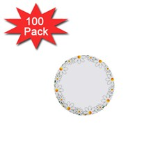 Photo Frame Love Holiday 1  Mini Buttons (100 pack)