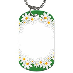 Photo Frame Love Holiday Dog Tag (one Side)