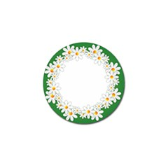 Photo Frame Love Holiday Golf Ball Marker (4 Pack)