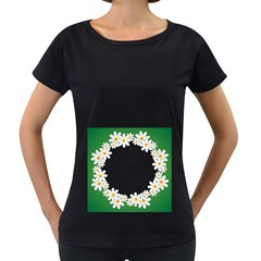 Photo Frame Love Holiday Women s Loose Fit T Shirt (black)