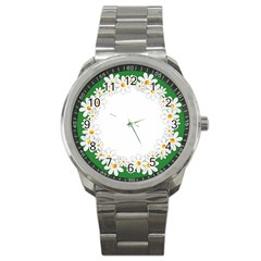 Photo Frame Love Holiday Sport Metal Watch