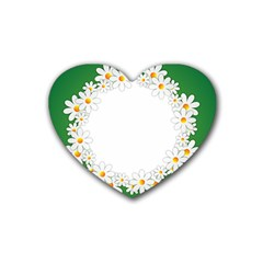 Photo Frame Love Holiday Heart Coaster (4 Pack)