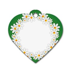 Photo Frame Love Holiday Dog Tag Heart (Two Sides)