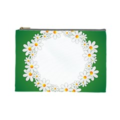 Photo Frame Love Holiday Cosmetic Bag (large)