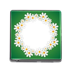 Photo Frame Love Holiday Memory Card Reader (Square)