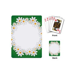 Photo Frame Love Holiday Playing Cards (Mini)