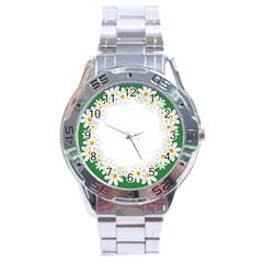 Photo Frame Love Holiday Stainless Steel Analogue Watch