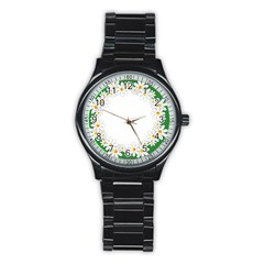Photo Frame Love Holiday Stainless Steel Round Watch