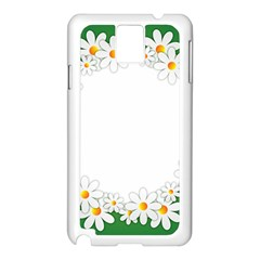 Photo Frame Love Holiday Samsung Galaxy Note 3 N9005 Case (white)