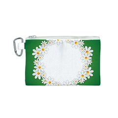 Photo Frame Love Holiday Canvas Cosmetic Bag (S)