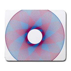 Spirograph Pattern Drawing Design Large Mousepads