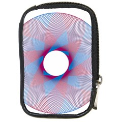 Spirograph Pattern Drawing Design Compact Camera Cases