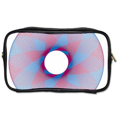 Spirograph Pattern Drawing Design Toiletries Bags