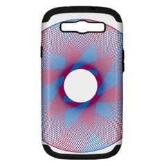 Spirograph Pattern Drawing Design Samsung Galaxy S Iii Hardshell Case (pc+silicone)