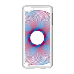 Spirograph Pattern Drawing Design Apple iPod Touch 5 Case (White)
