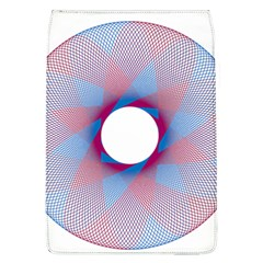 Spirograph Pattern Drawing Design Flap Covers (l)