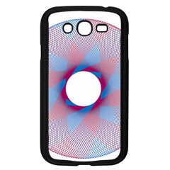 Spirograph Pattern Drawing Design Samsung Galaxy Grand Duos I9082 Case (black)