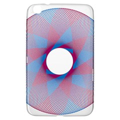 Spirograph Pattern Drawing Design Samsung Galaxy Tab 3 (8 ) T3100 Hardshell Case