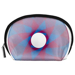 Spirograph Pattern Drawing Design Accessory Pouches (large)