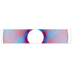 Spirograph Pattern Drawing Design Flano Scarf (small)