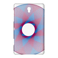 Spirograph Pattern Drawing Design Samsung Galaxy Tab S (8 4 ) Hardshell Case