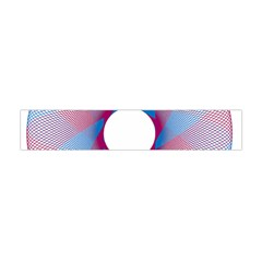 Spirograph Pattern Drawing Design Flano Scarf (mini)