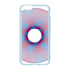 Spirograph Pattern Drawing Design Apple Seamless iPhone 6/6S Case (Color)